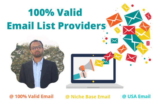 I will provide your niche based 1k Valid email list in the United State