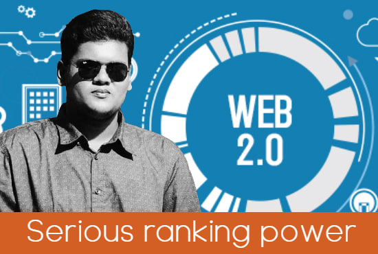 I will generate 20 web 2.0 backlinks from dedicated account