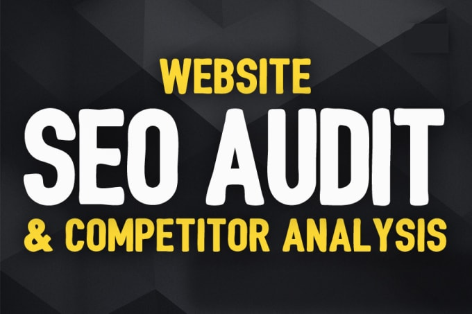 I'll do complete website audit and website analysis