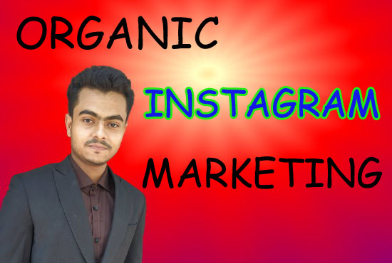 I will do organic Instagram marketing naturally growth