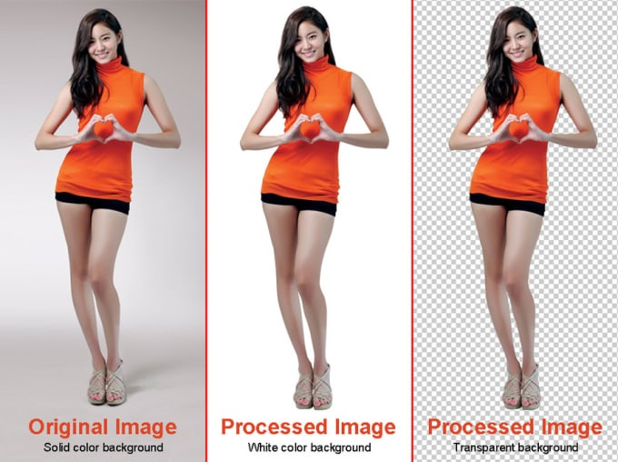 I will do perfect photo background remove 5 images