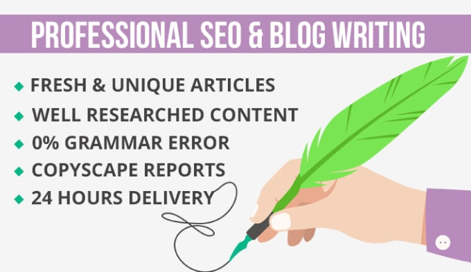 SEO Article Writing in 24 hours 1000+ words