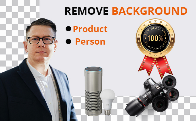 Remove 25 image background in 24 hr