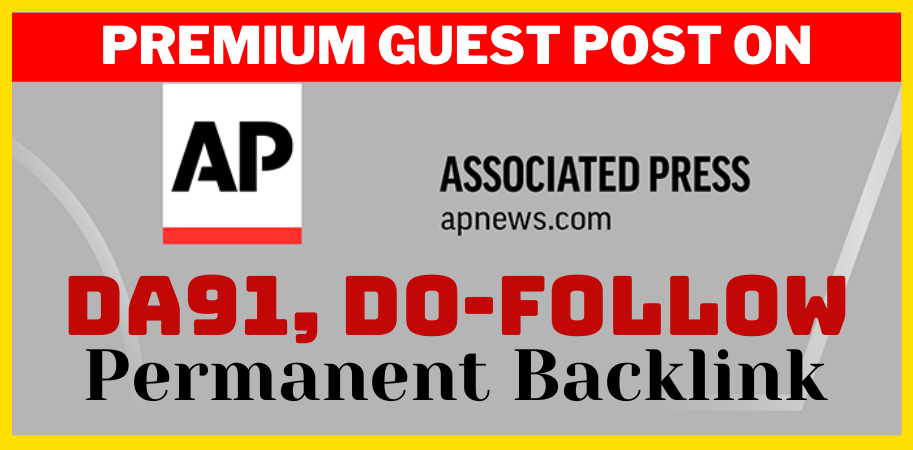 Do permanent guest post on apnews. com press release da 92