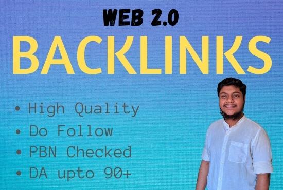 I Will Build 50 High Quality Web 2.0 Do Follow Backlinks