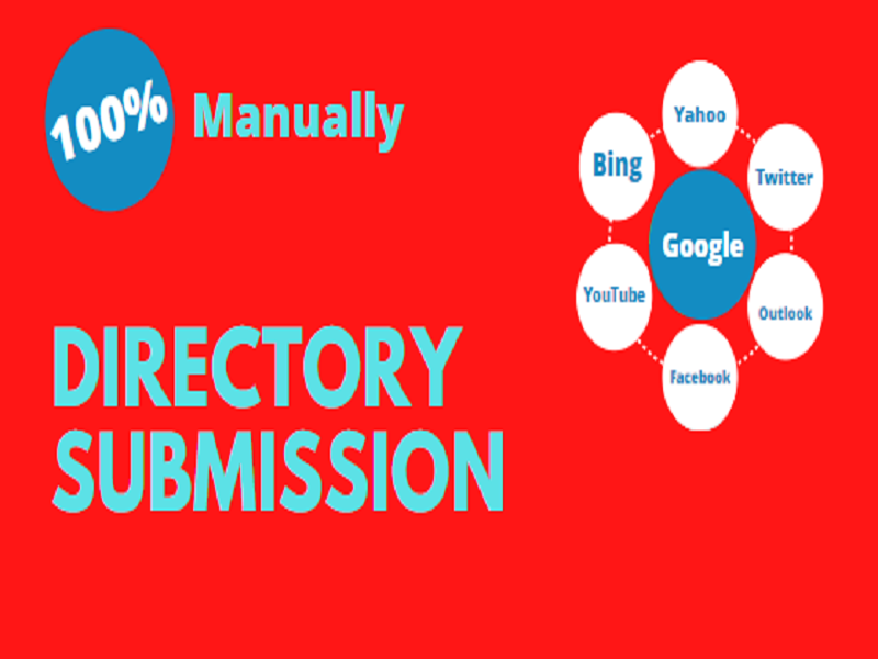 I will provide you 100 manually directory submission