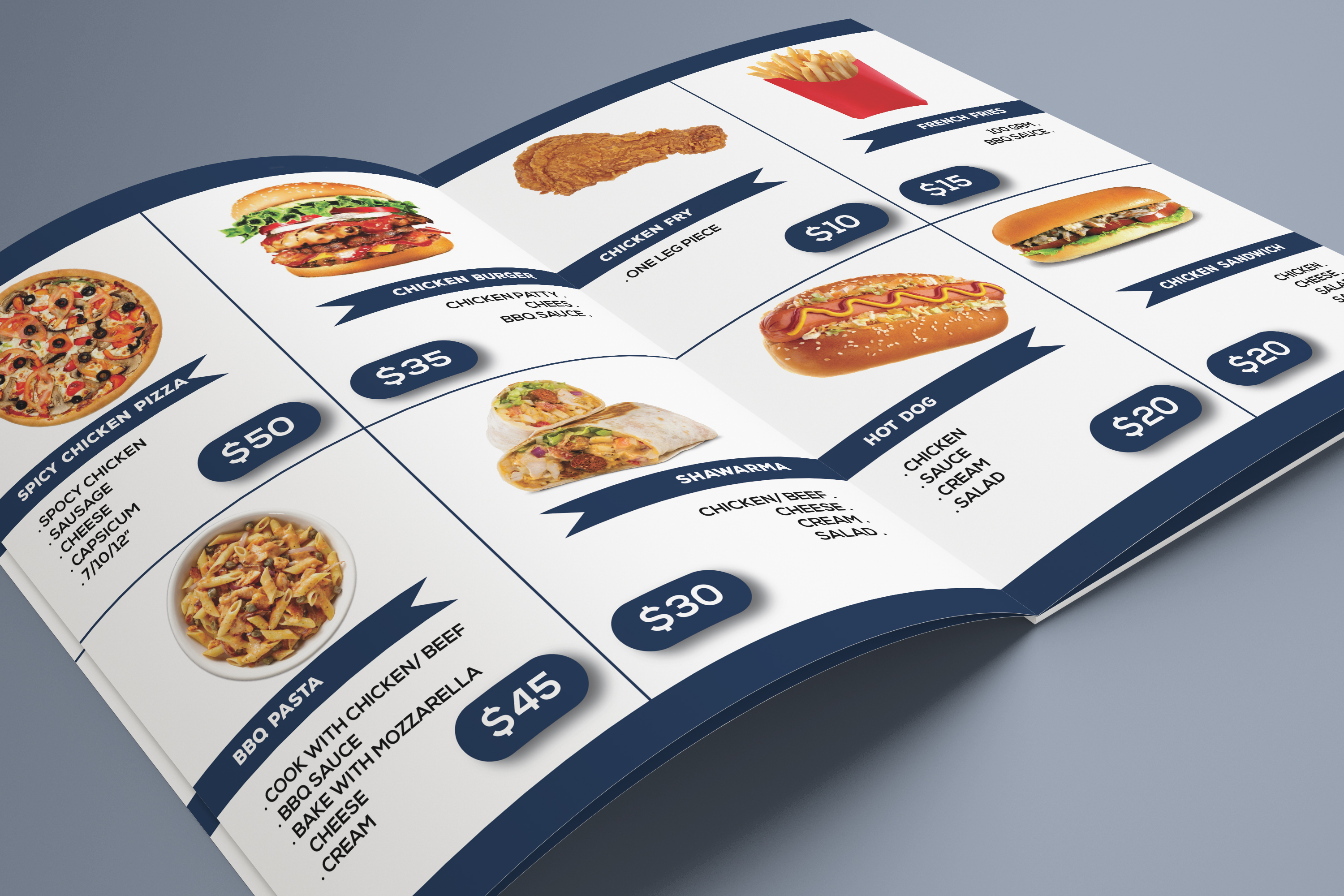 I will design professional product catalogue