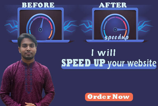 I will do speed up and optimize your wordpress website.