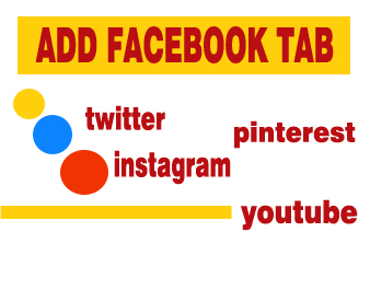 I will create 4 facebook tabs to facebook page