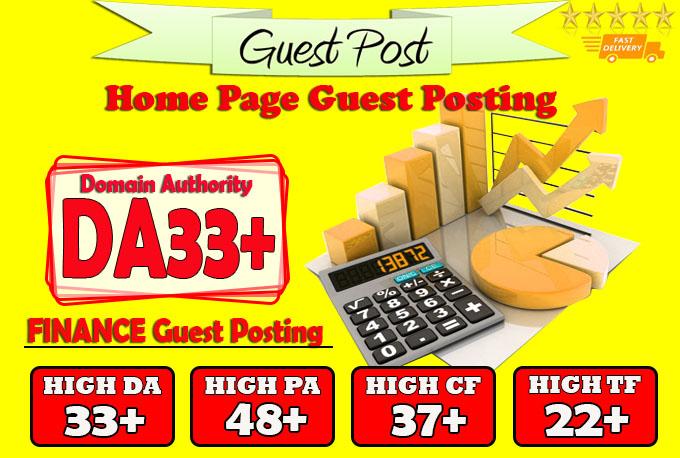 do guest post on da33 hq finance blog
