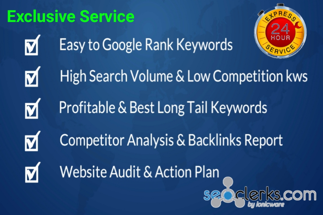 20 Low Competition and High Search Volume SEO Keyword Research for your site