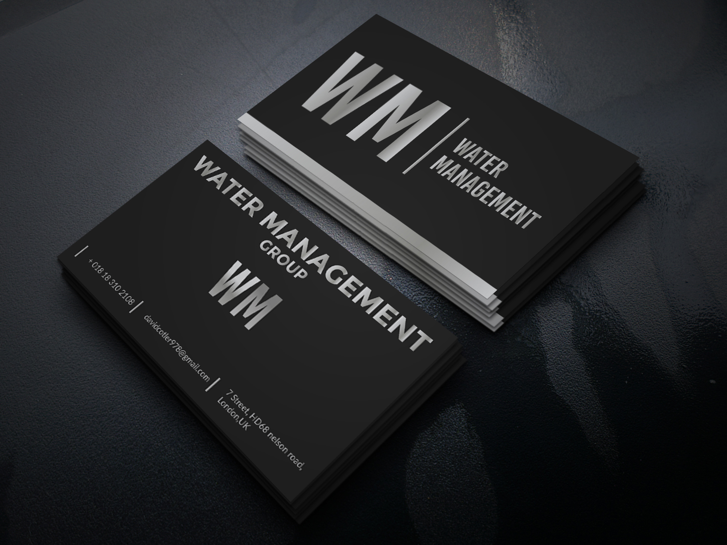 I will design business cards with stationery in 24 hours