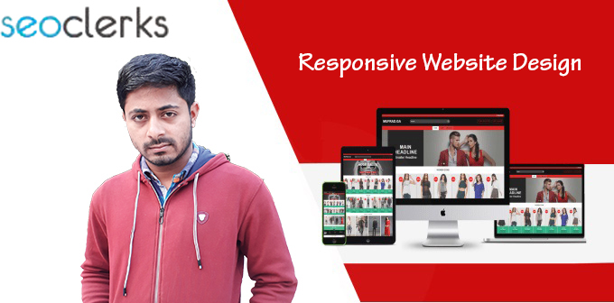 I will design modern responsive website with HTML5 css bootstrap4 jquery