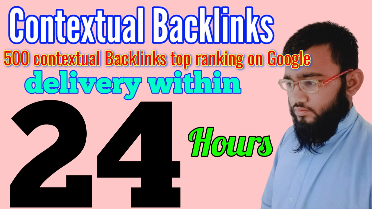 I will create 500 contextual backlinks