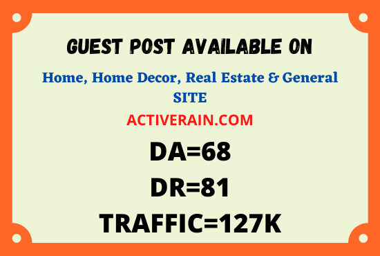 I will publish ON high quality SEO guest post on DA 68