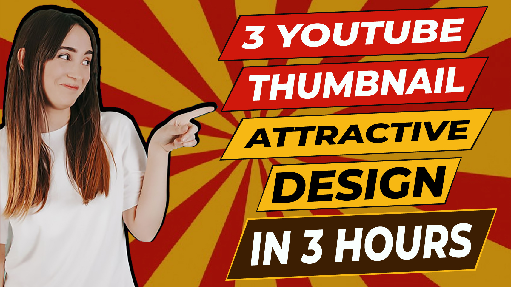 I will create design catchy youtube thumbnail for you within 2 hours