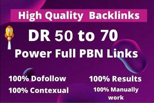 Do SEO Link Building On High DR & DA PBN Sites