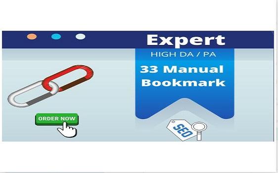 I will do 30 social bookmarking on high PR backlinks