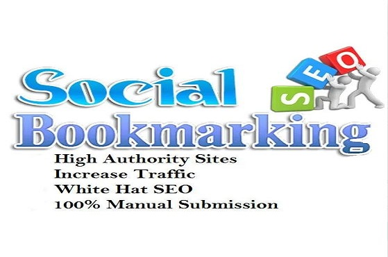 I will do 30 social bookmarking on high PR backlinks
