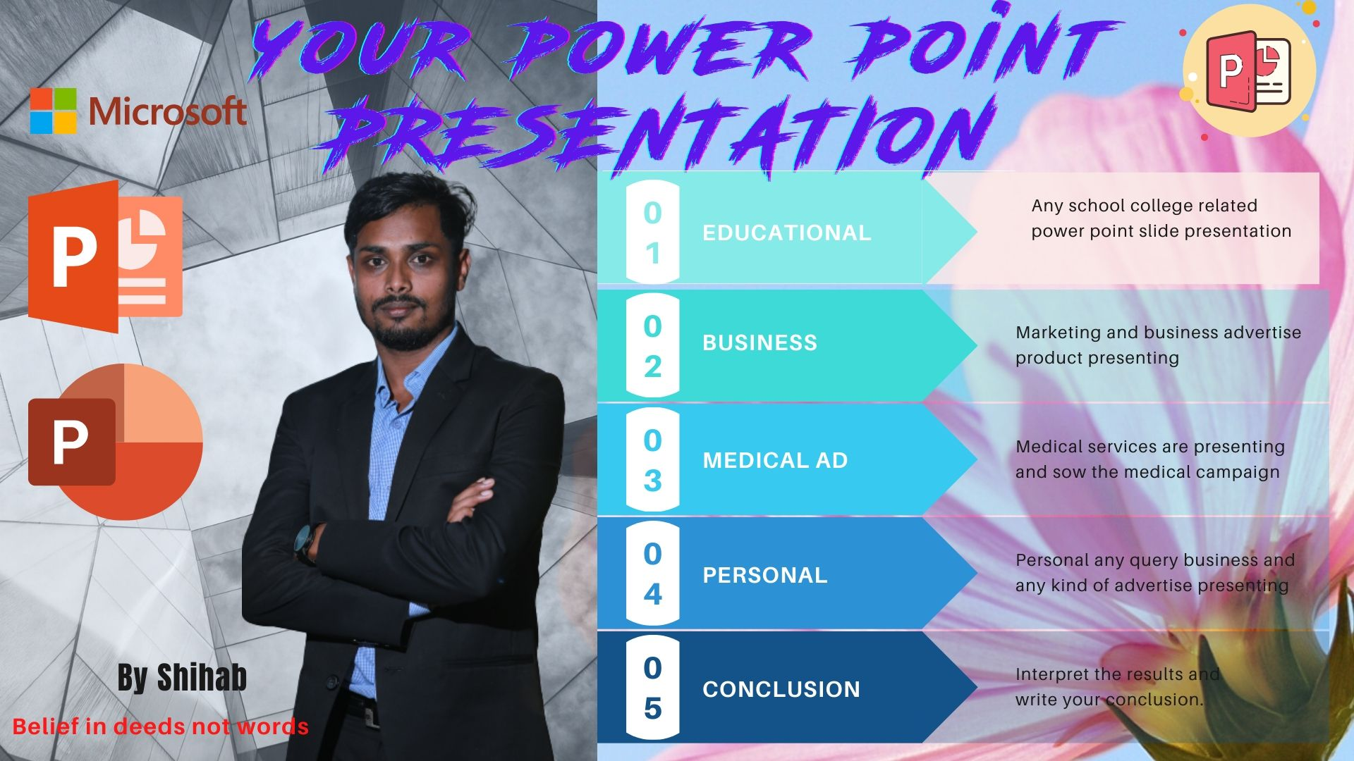 I will create master class power point presentation