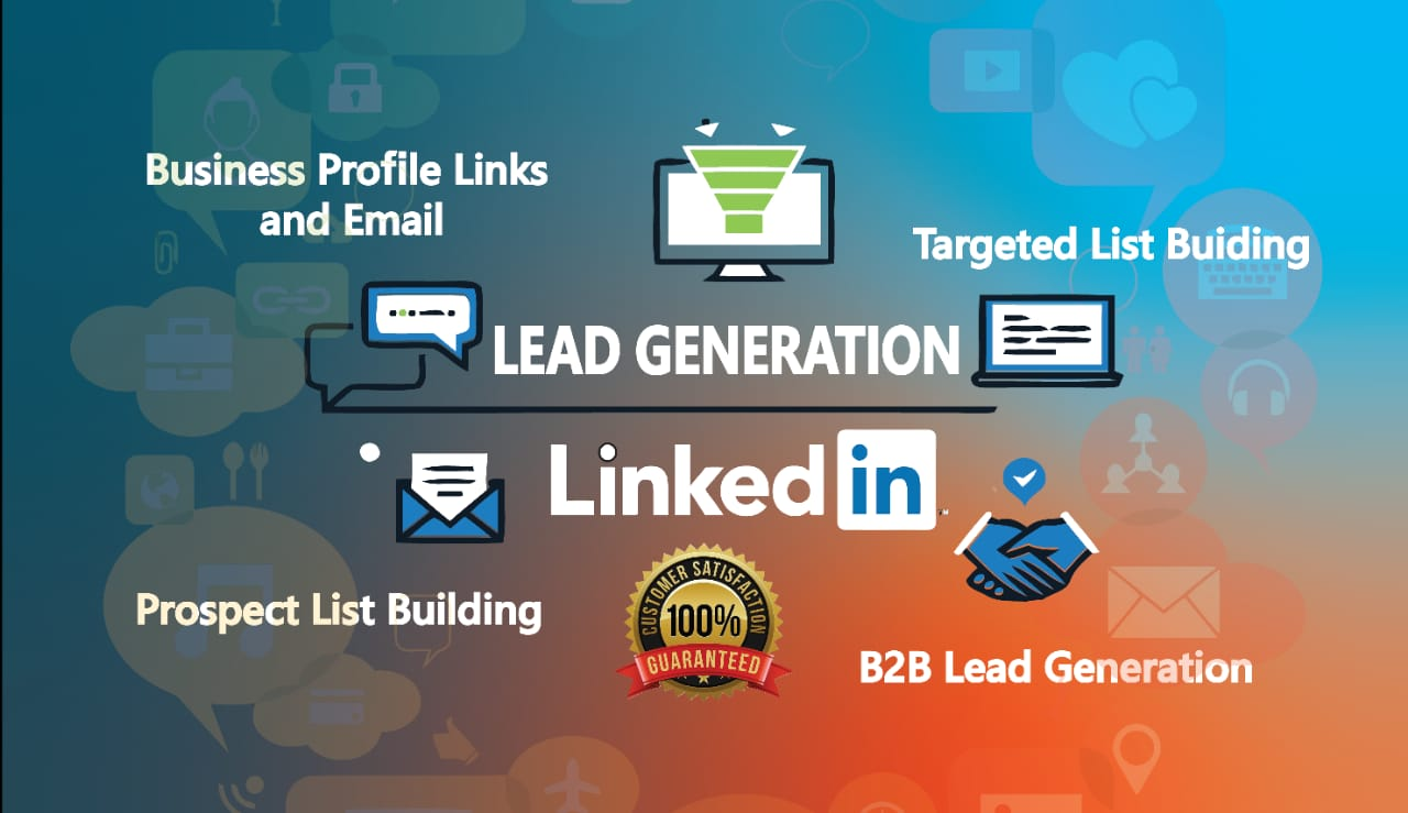 b2b linkedin lead generation and prospect email list building