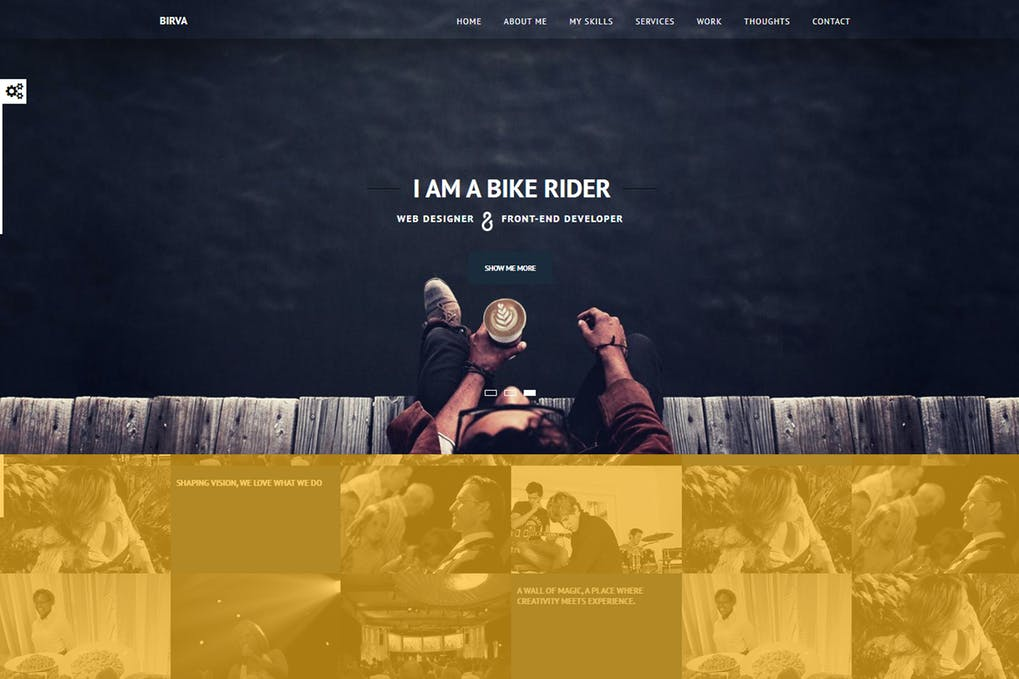 I will design custom web page and landing page