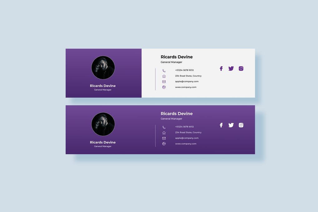 I will design and code clickable Html email signature