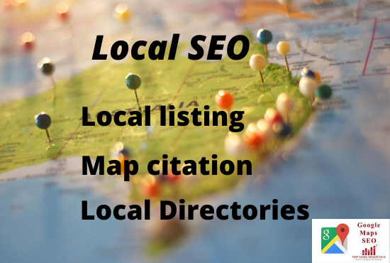 I will do local citation, google map citation and directories