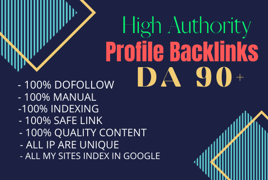 I will make 250 unique high quality dofollow SEO profile backlinks