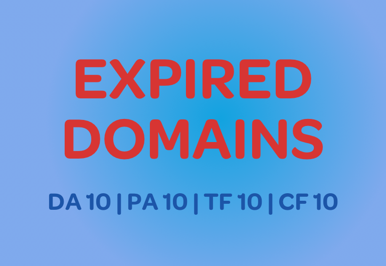 Buy Expired Domains Free of SPAM