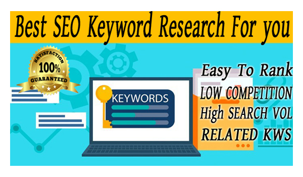 I will do excellent SEO Keyword research to rank your website fast
