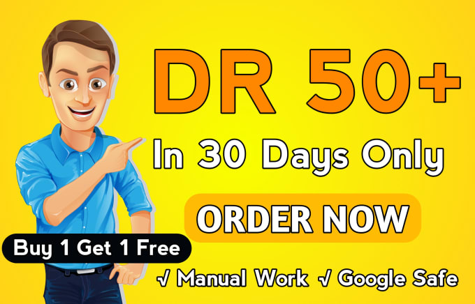 increase your ahrefs domain rating DR 50 plus