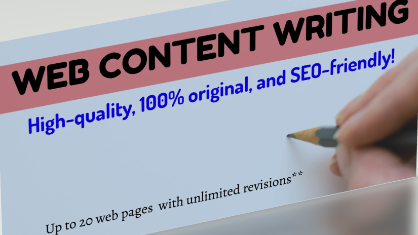 I will write creative content for your Website