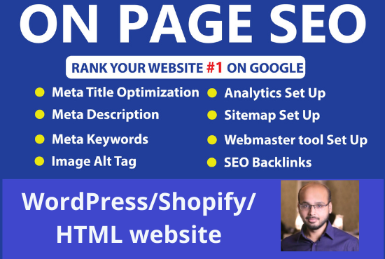 I will do optimize SEO that will generate traffic on your website