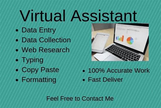 I will do data entry typing work