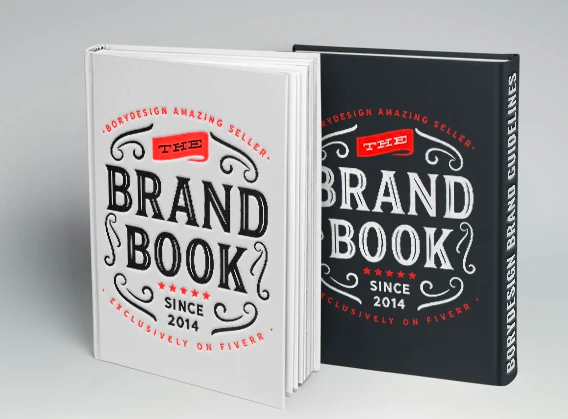 Make for design a brand style guide and logo