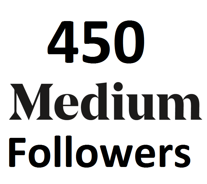 add 450 Medium Follower On Your Medium Article