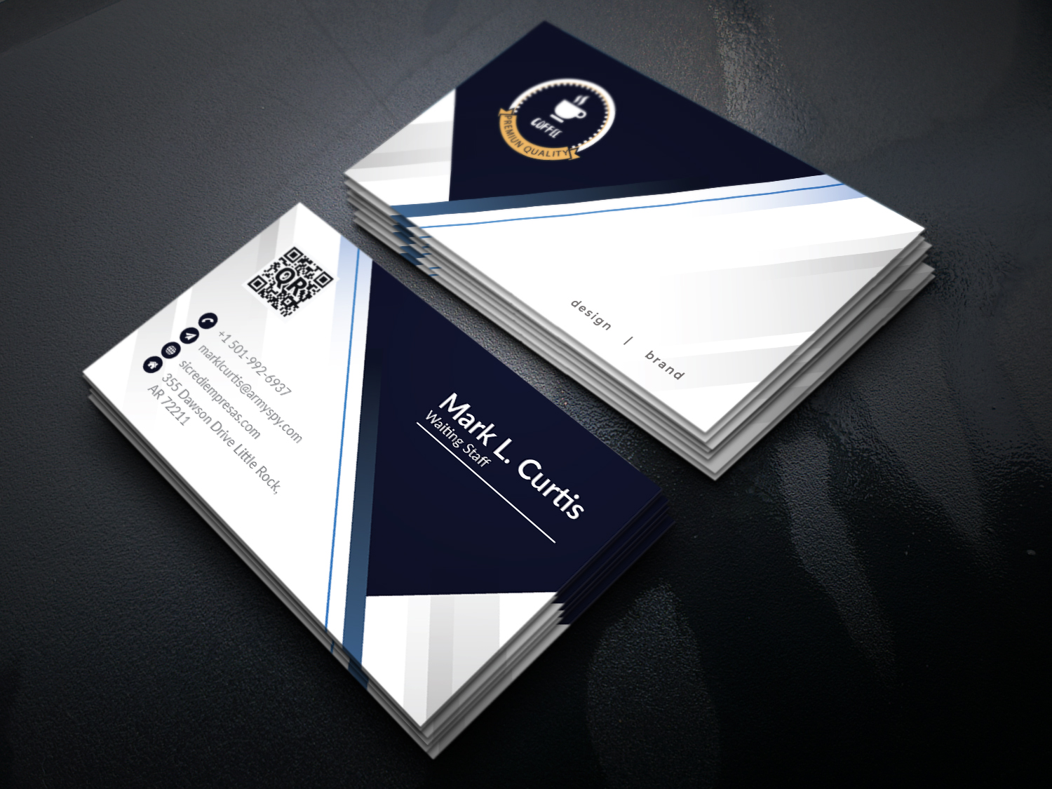I will do 2 side Business Card Design professionally