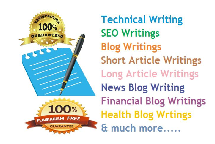 Best Quality Write of 650+ words ARTICLE Writing & Rewrite on Any Keywords or Topic