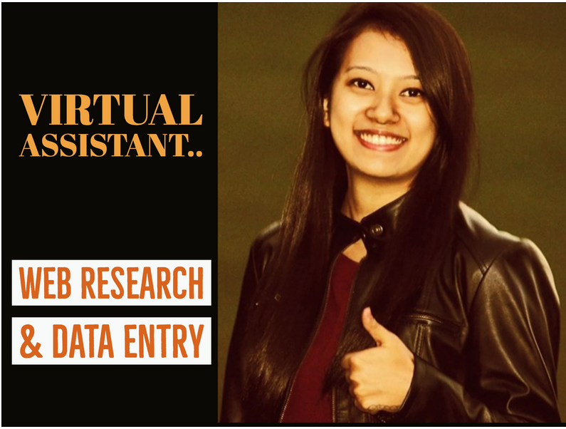 I will be your trustworthy virtual assistant for data entry and web research