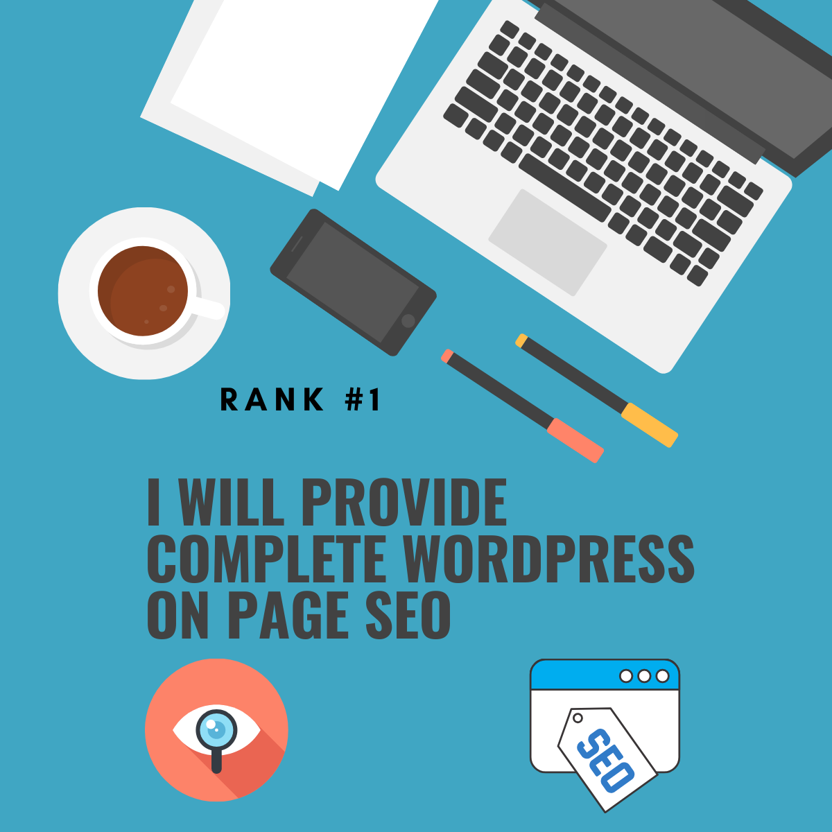 I will provide complete wordpress on page seo