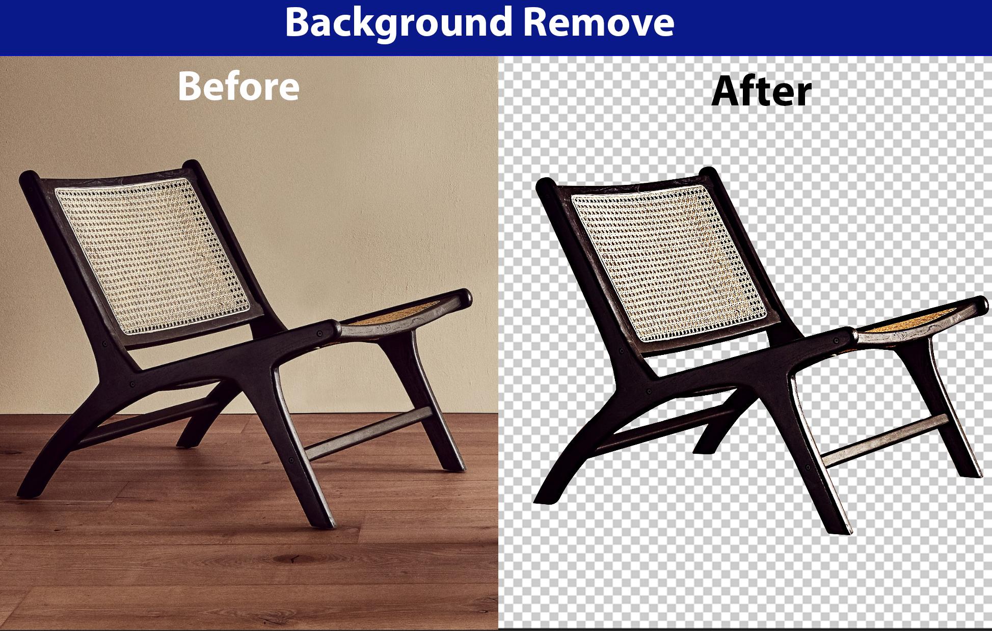 I will do photo editing, background remove, retouch, resize, professionally 5 image