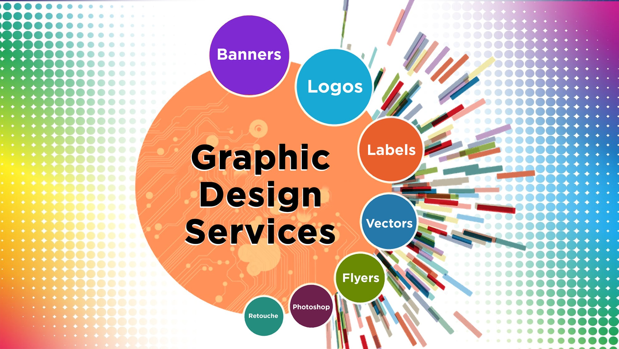 I will do anything graphic design related,  photoshop images,  redesign vector artwork and data entry