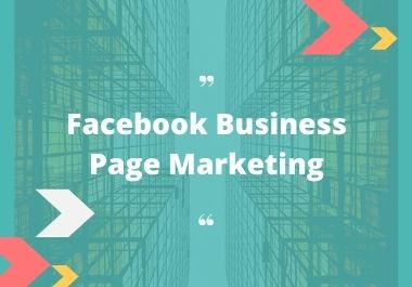 I will provide Facebook marketing service & manage your page