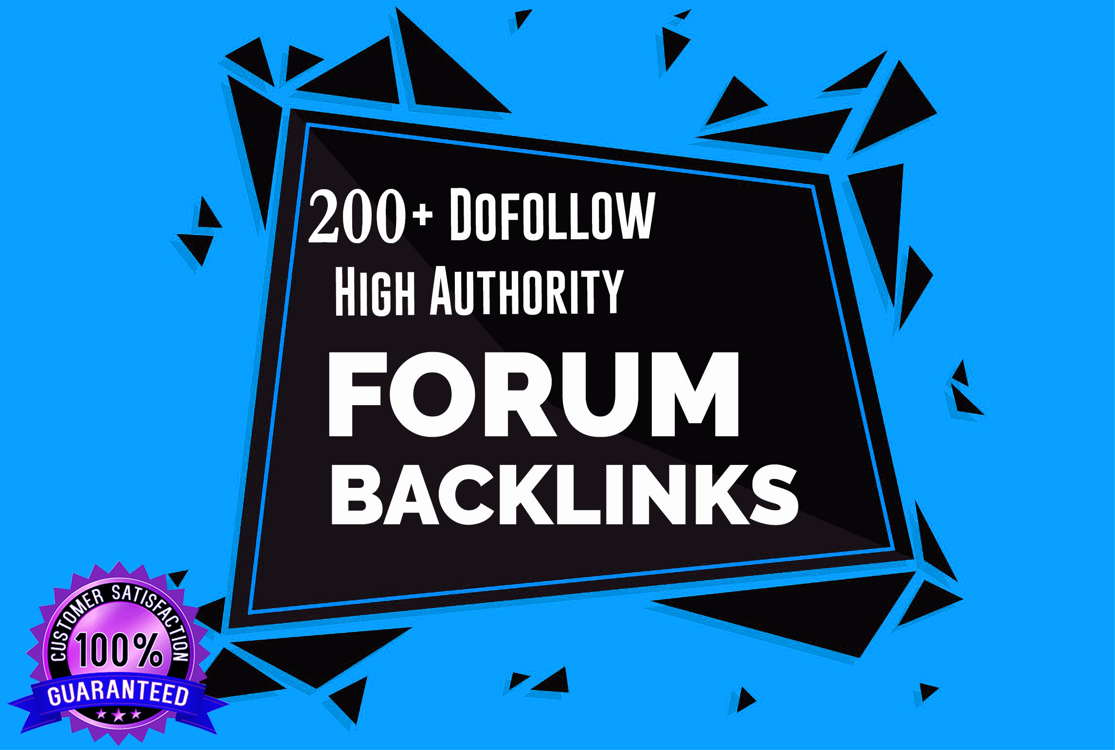 200+Dofollow high authority forum backlinks