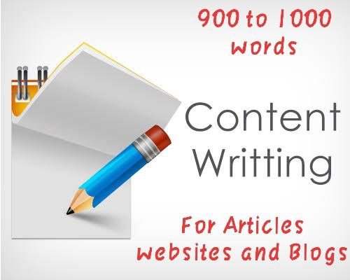 Creating original content of 800 - 900 words