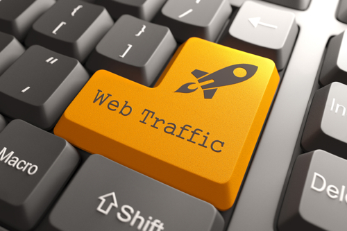 Real web traffic for 30 days to your website by social media marketing
