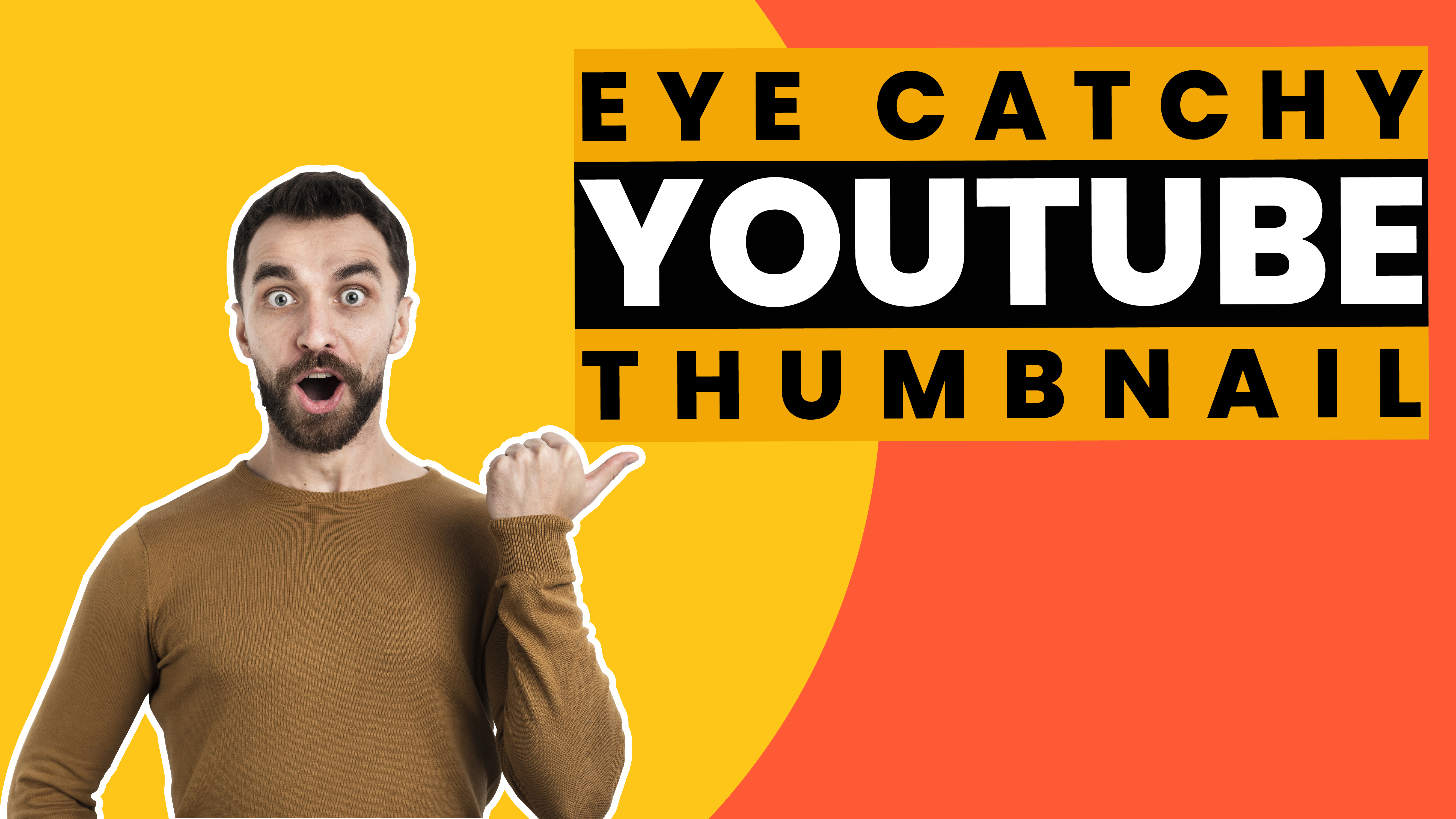 i will create 2 youtube thumbnail design in 24hr