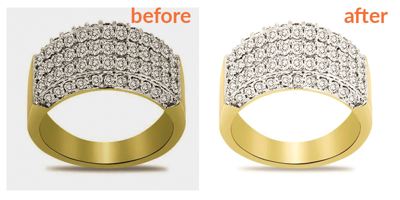 I will do jewelry retouching very proffesionally