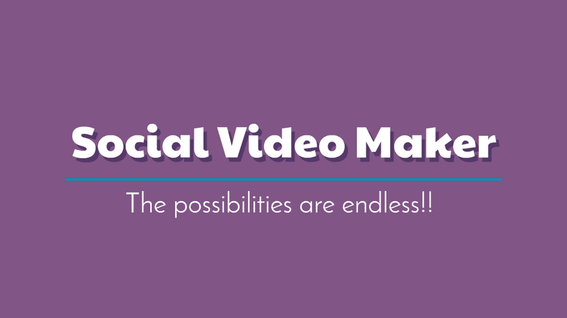 I can make a social media videos and posts